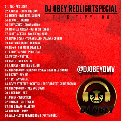 redlightspecial tracklist